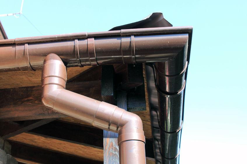 Klempířina od firmy Střechy Ulmann, detail okapu