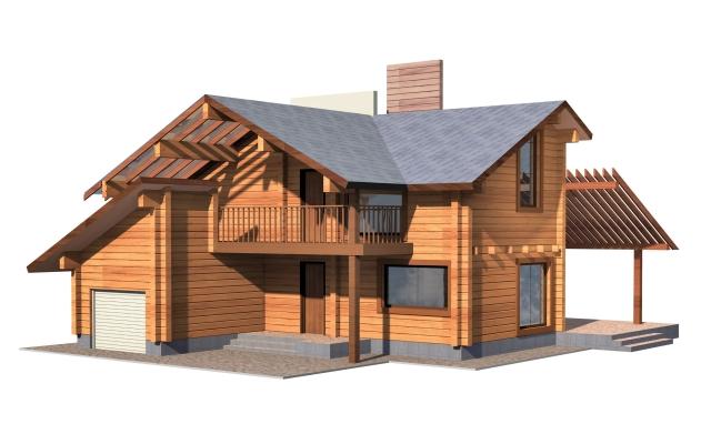 Ukázka dřevostavby firmy Ulmann
