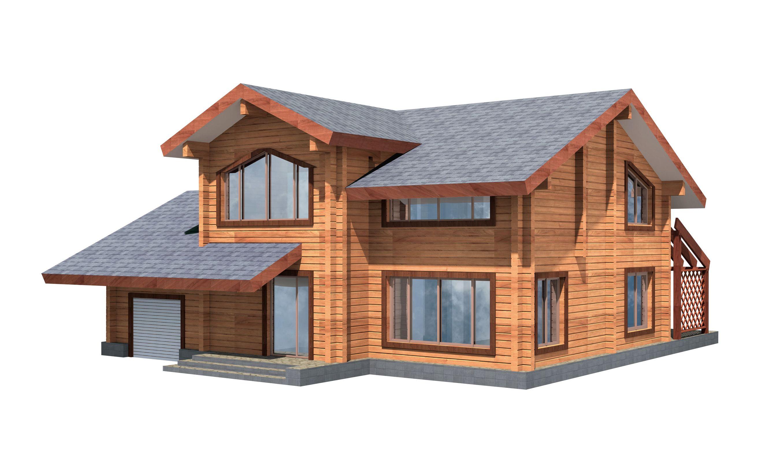 Ukázka moderní dřevostavby od firmy Střechy Ulmann